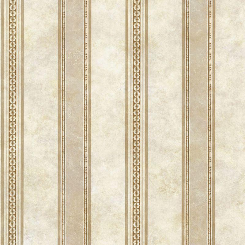 Brewster SRC76199 Castine Beige Tuscan Stripe Wallpaper