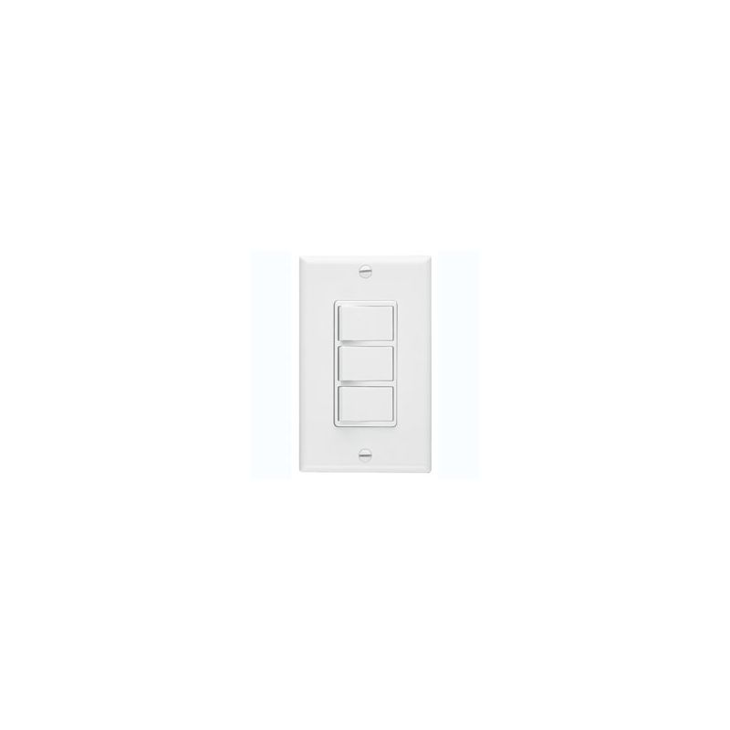 Broan 66W 3 Function Rocker Switch - White photo