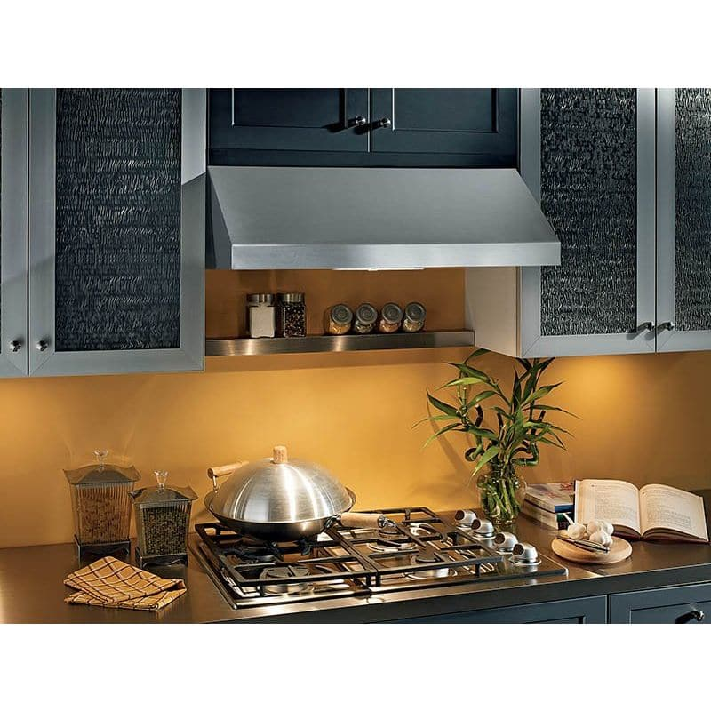 Broan APE130SS APE1 Series 30 Inch 440 CFM Under Cabinet Range Hood with Heat Se photo