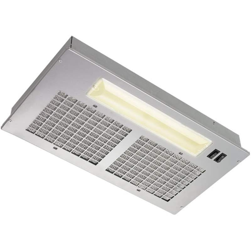 Broan PM250 250 CFM Custom Range Hood Insert with Incandescent Lighting from the photo