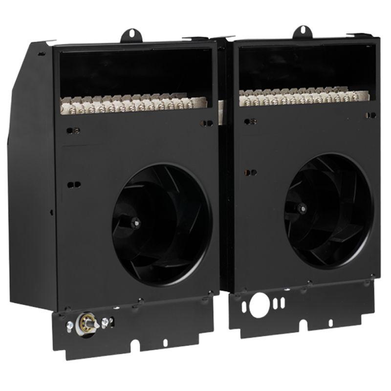 13650 BTU 208 Volt 4000 Watt Twin Fan-Forced Electric In-Wall Heat - Cadet CST408T