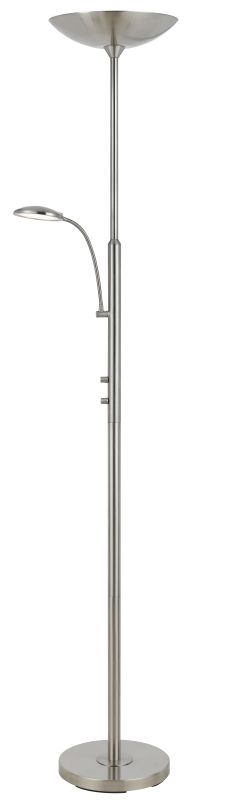 Cal Lighting BO-2617TR 2 Light LED Floor Lamp