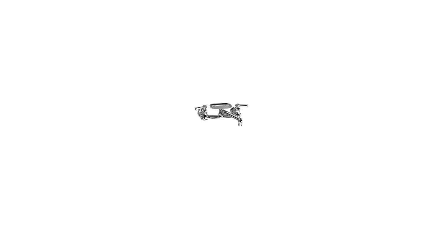 UPC 611943572334 - Chicago Faucets 540-ABCP Chrome Wall Mounted ...