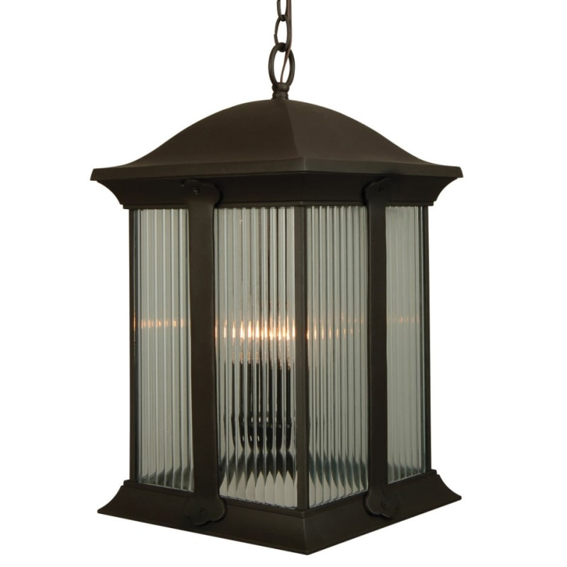 Craftmade Z4121 Summit 3 Light Square Outdoor Pendant - 10.75 Inches Wide photo