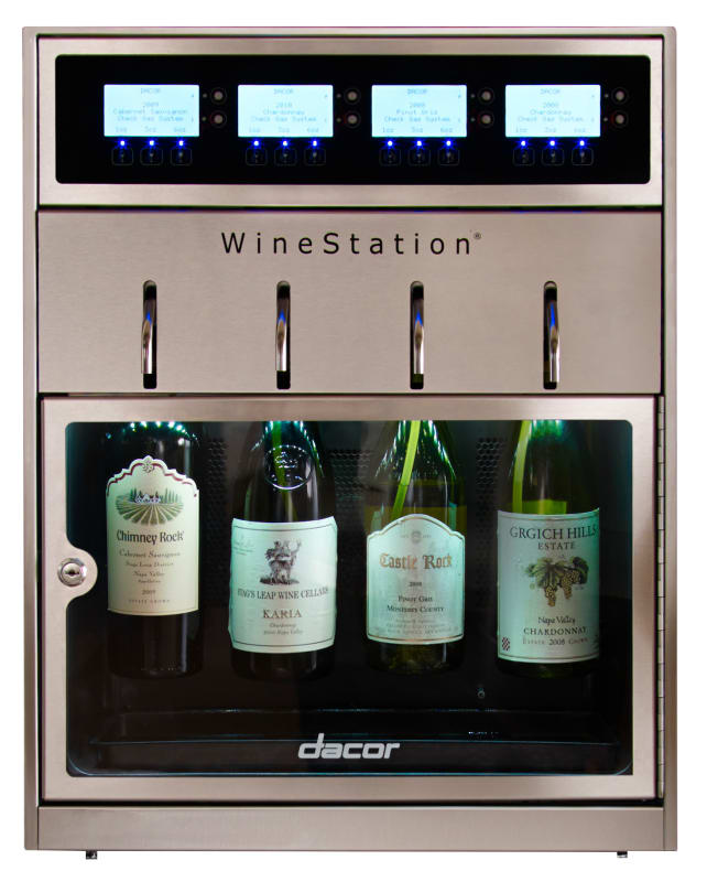 Dacor DYWS4 20 Inch Wide Heritage WineStation Wine Dispenser photo