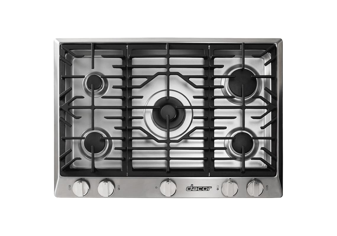 Dacor HCT305G/NG 30 Inch Wide Built-In Heritage Natural Gas Cooktop photo