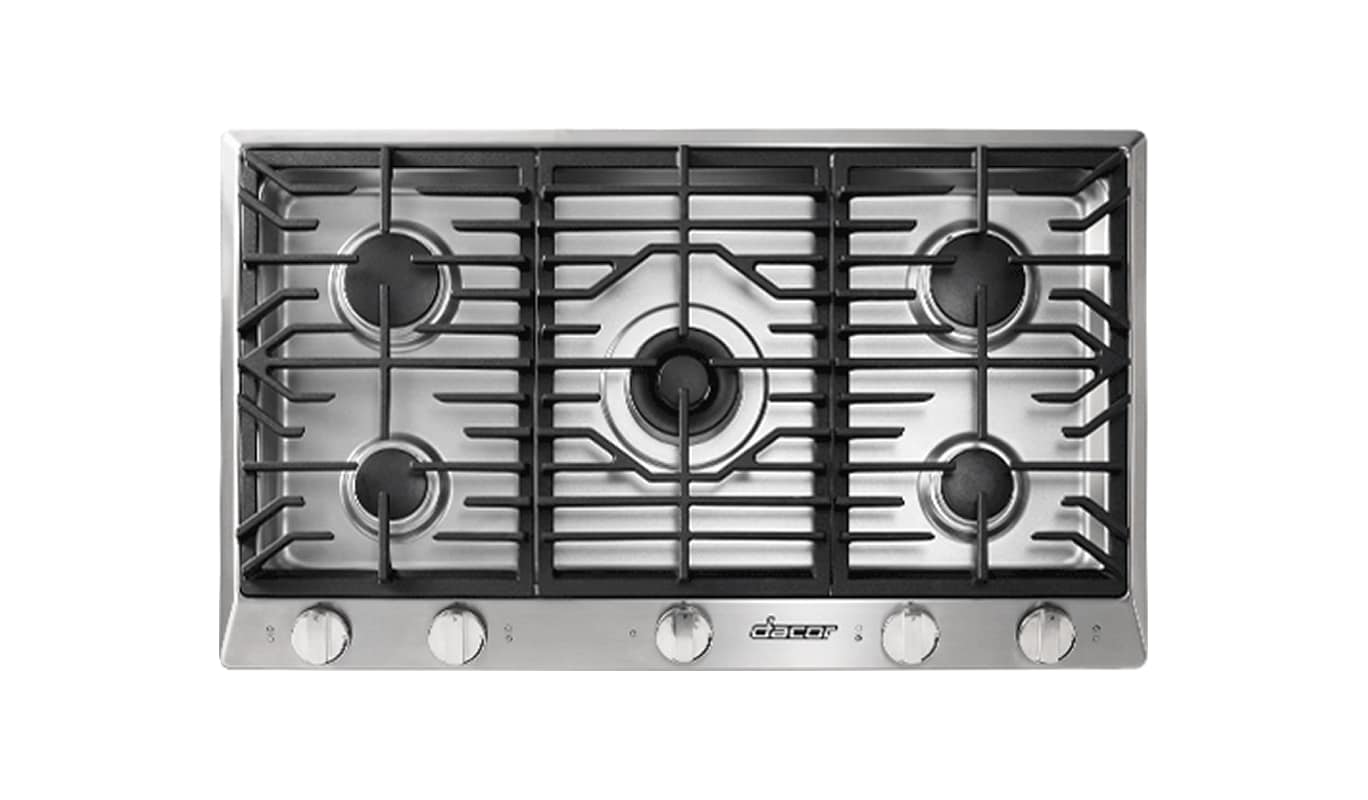 Dacor HCT365G/NG 36 Inch Wide Built-In Heritage Natural Gas Cooktop photo