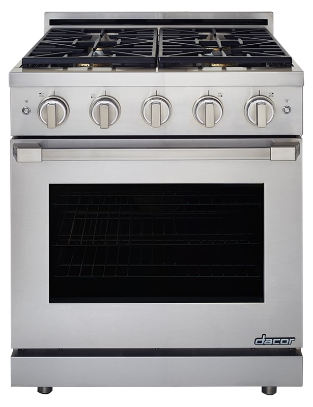 Dacor HGPR30/NG 30 Inch Wide 5.2 Cu. Ft. Heritage Natural Gas Convection Range photo