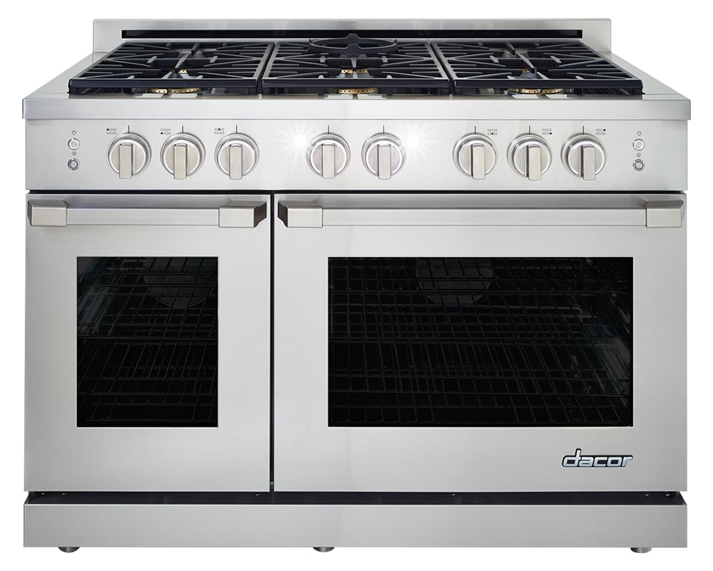 Dacor HGPR48/LP 48 Inch Wide 8 Cu. Ft. Heritage Liquid Propane Convection Range photo