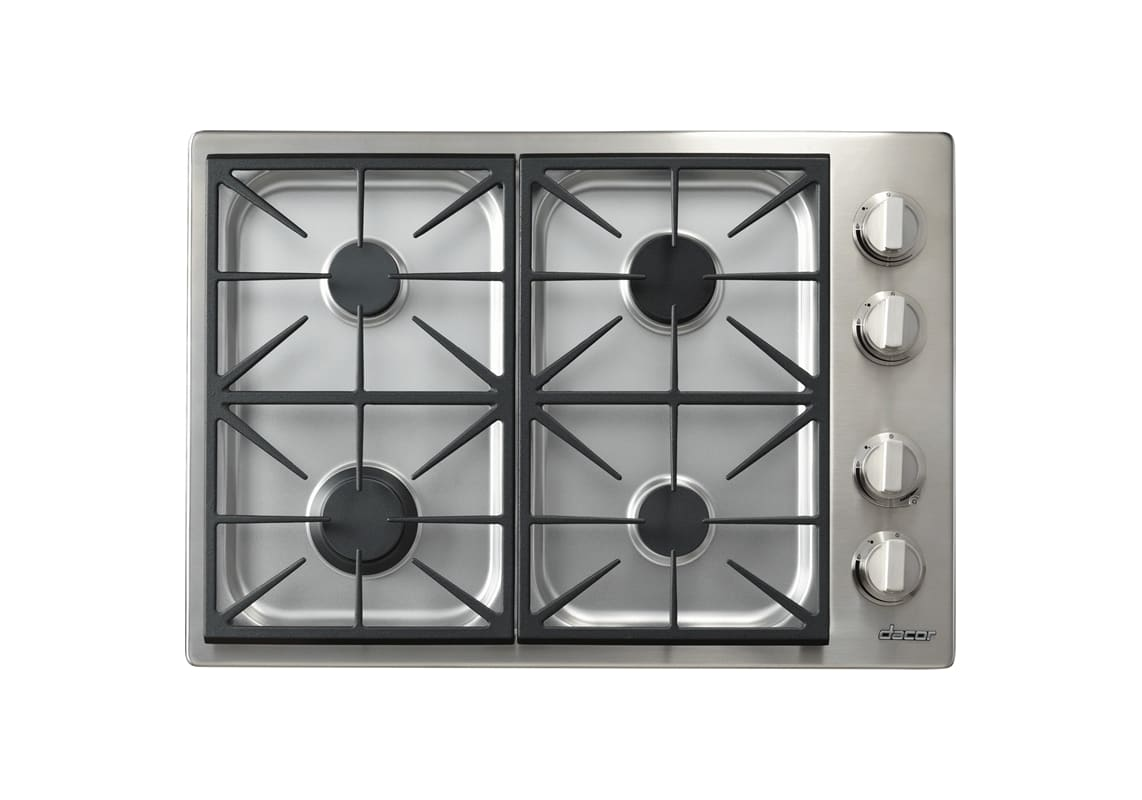Dacor HPCT304G/NG 30 Inch Wide Built-In Heritage Pro Natural Gas Cooktop photo