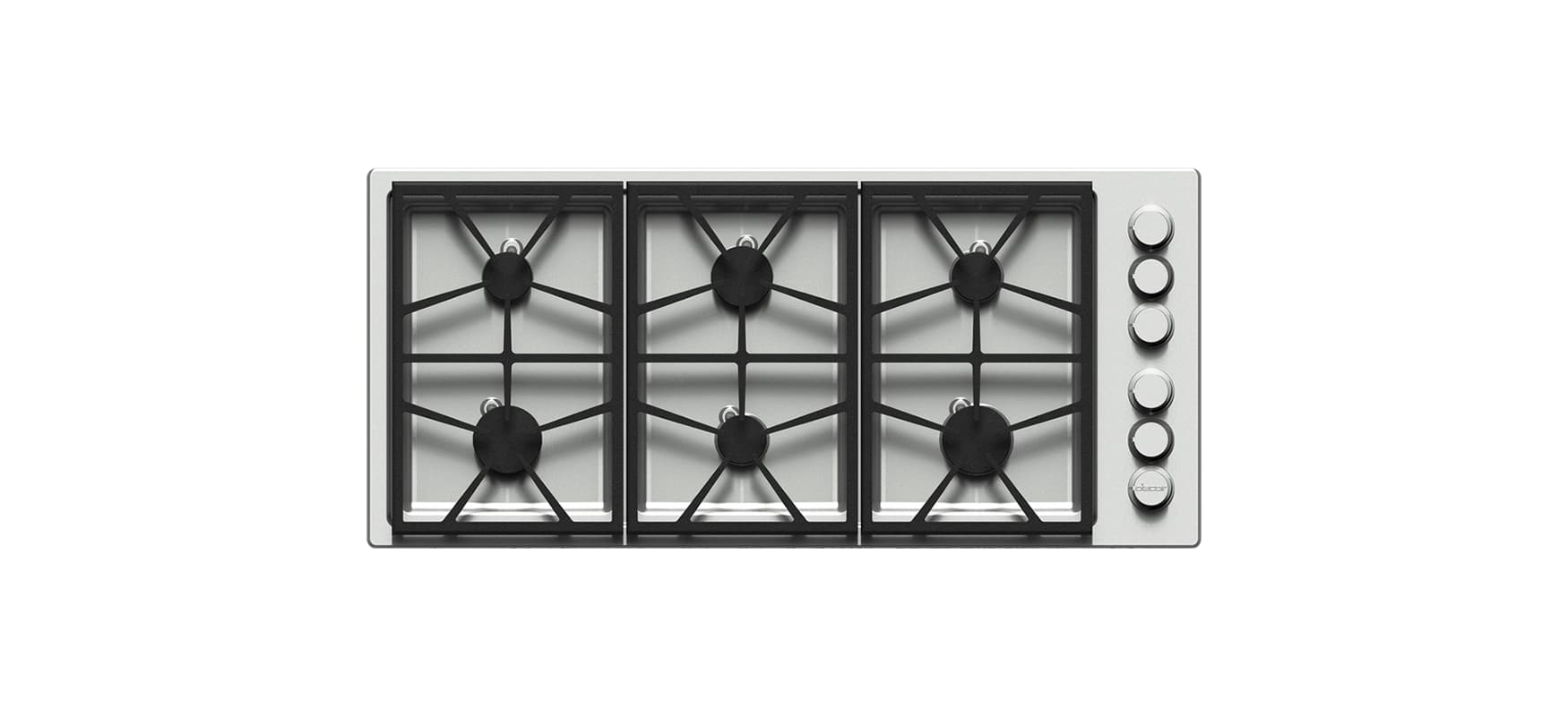 Dacor HPCT466G/NG 46 Inch Wide Built-In Heritage Pro Natural Gas Cooktop photo