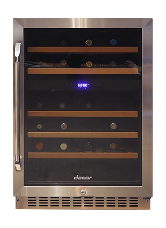 Dacor HWC241R 24 Inch Wide Heritage 46 Bottle Capacity Built-In Wine Cooler with photo