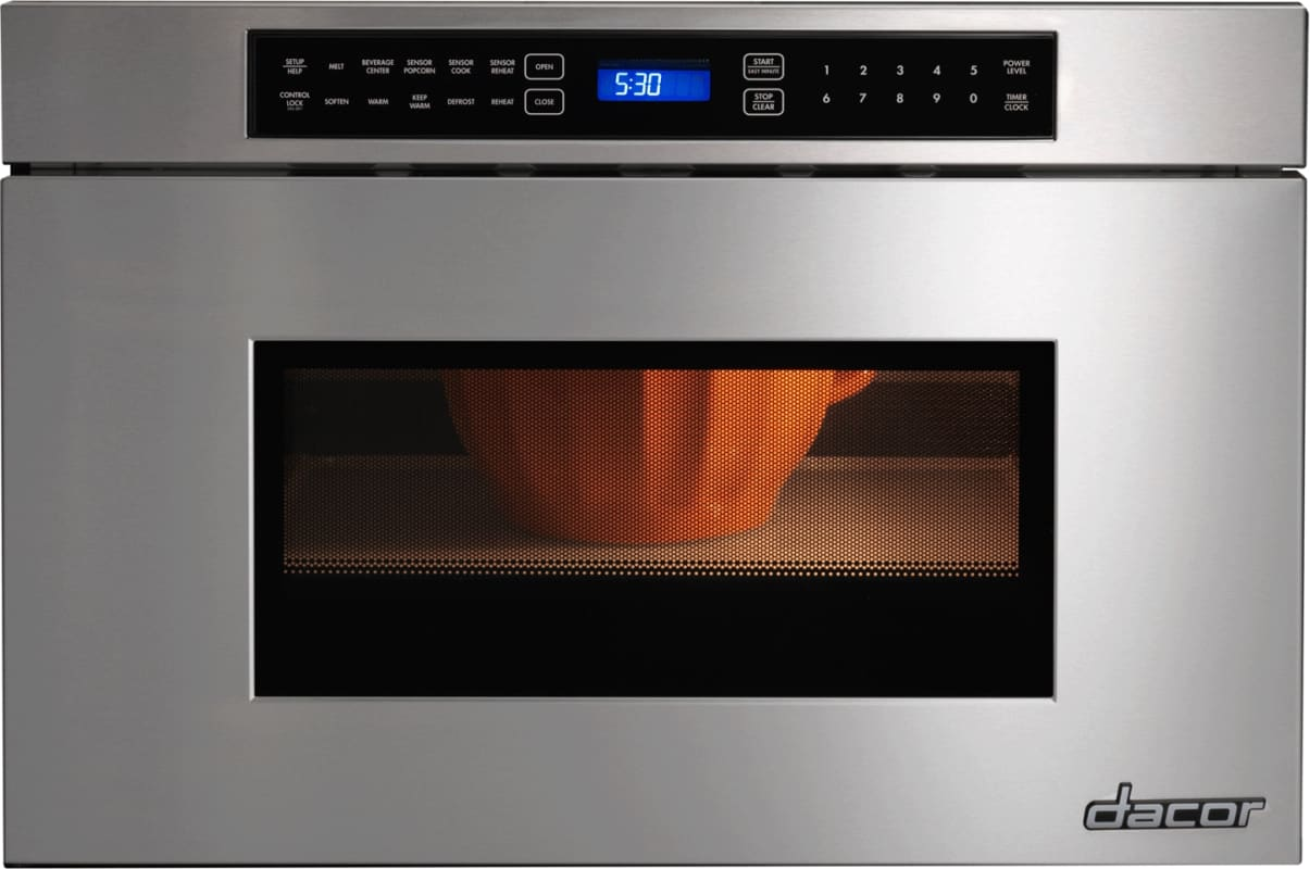 Dacor RNMD24 24 Inch Wide 1.2 Cu. Ft. 950 Watt Heritage Drawer Microwave photo