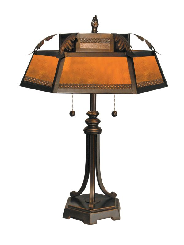 dale tiffany tt90399 2 light mica table lamp with mica shade 1678526. Black Bedroom Furniture Sets. Home Design Ideas