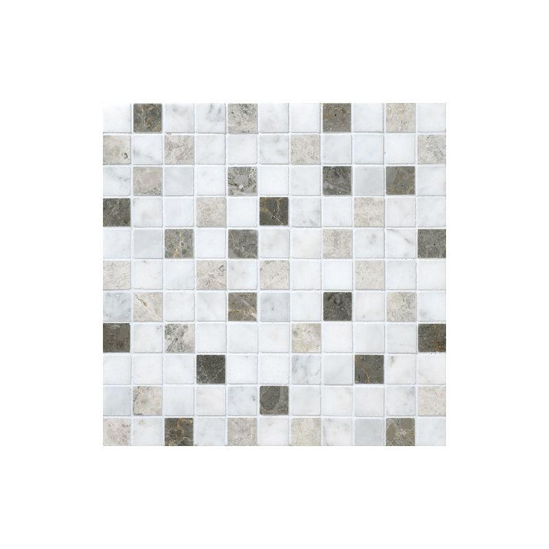 "Daltile DA88-11MS1U Marble Tirso Blend 1"" x 1"" Honed Multi-Surface Mosaic Tile"