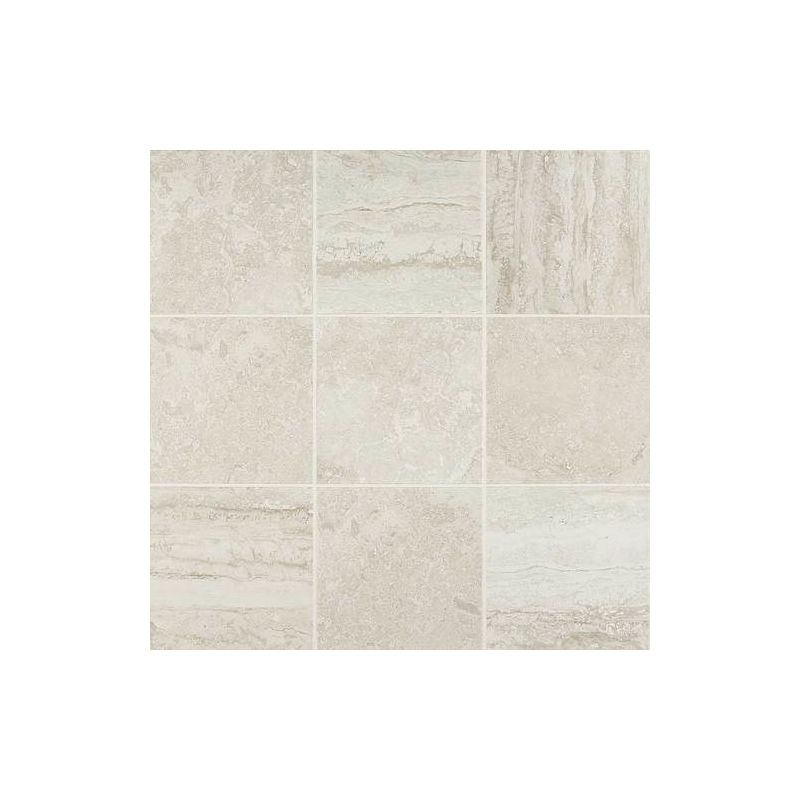 Daltile HLP Heathland White Rock X Ceramic Wall Tile - 6 x 12 white porcelain tile