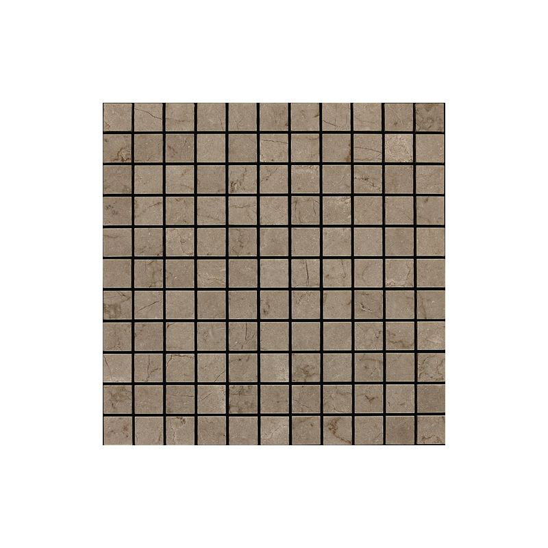 "Daltile M744-11MS1U Marble Silver Screen 1"" x 1"" Honed Multi-Surface Mosaic Tile"