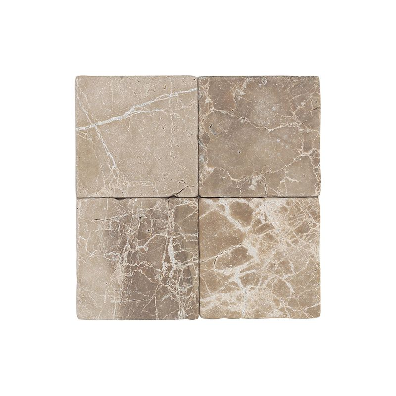 Daltile M712-1212TS1P Emperador Light Classic Marble Marble Emperador