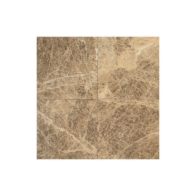 "Daltile M712-18181L Marble Emperador Light Classic 18"" x 18"" Polished Stone Mult"