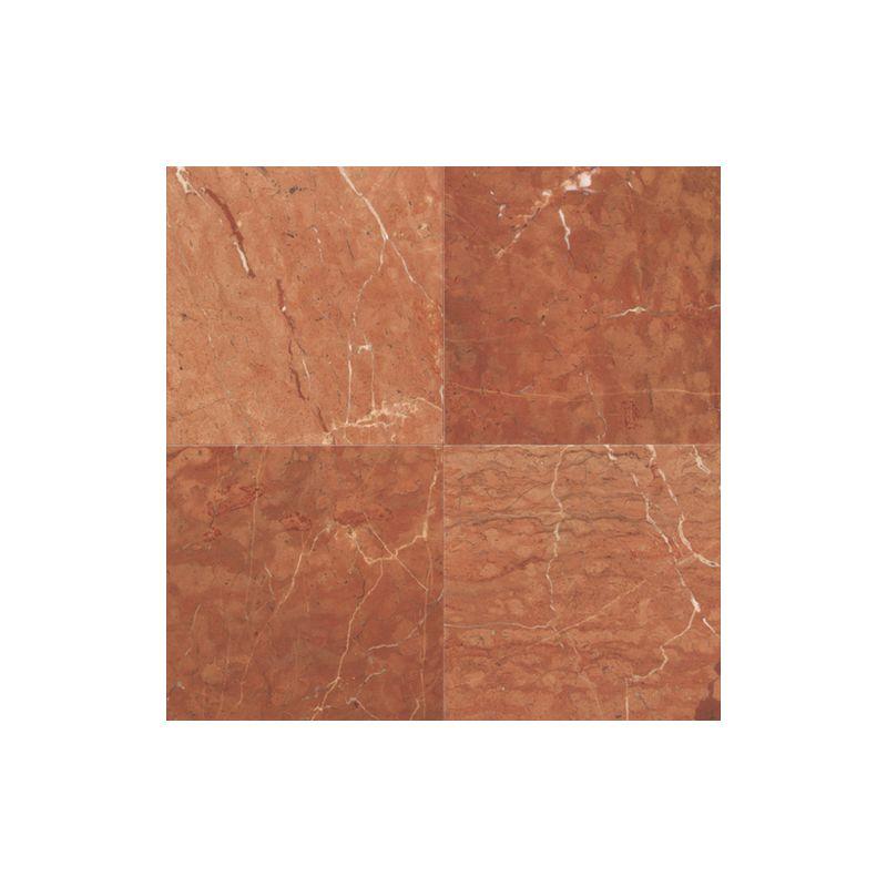 "Daltile M7241818581L Marble Tile, Rojo Alicante, 18"" x 18"" Polished"