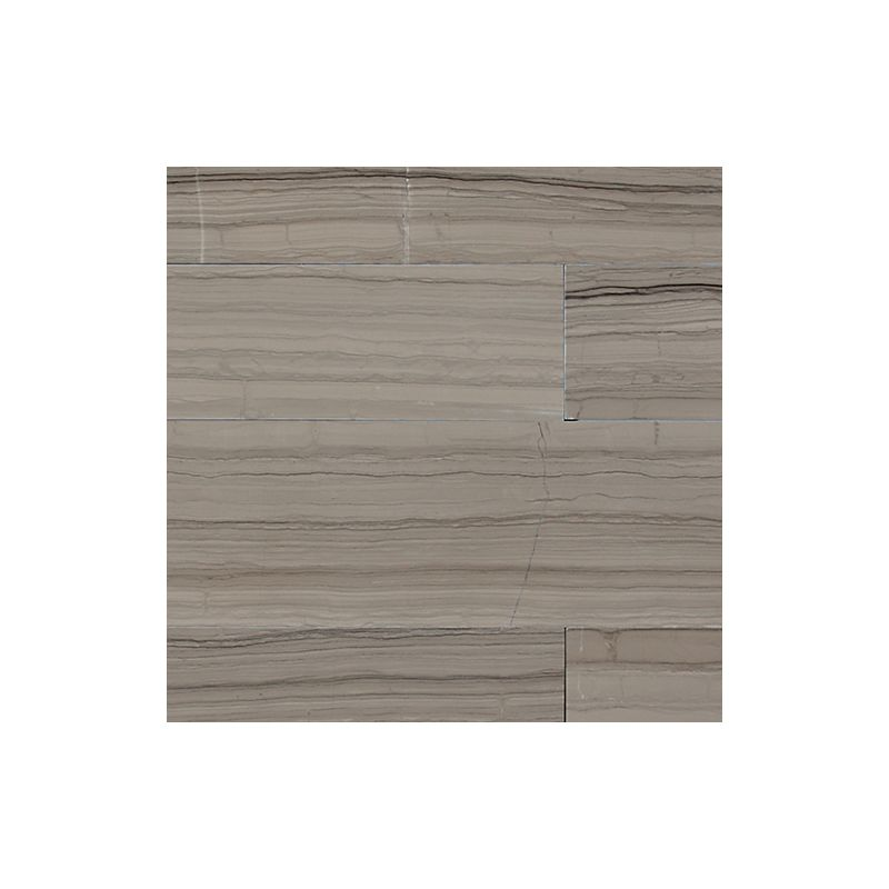 "Daltile M744-836V1L Marble Silver Screen 36"" x 8"" Vein-Cut Polished Stone Plank"