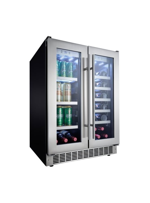 Danby DBC047D3 24 Inch Wide 21 Bottle Capacity Built-In Beverage Center with Dua photo