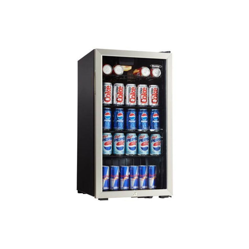 Danby DBC120 120 Can Beverage Cooler w/ Lock photo