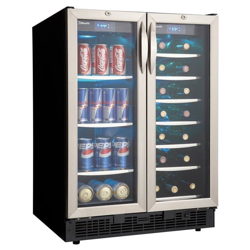 Danby DBC2760 24 Inch Wide 27 Bottle Capacity Built-In Beverage Center with Dual photo