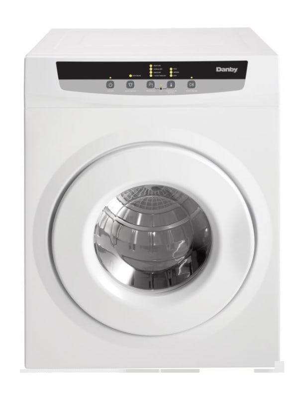 Danby DDY060DB 24 Inch Wide 13.2 Cu. Ft. Capacity Electric Dryer photo