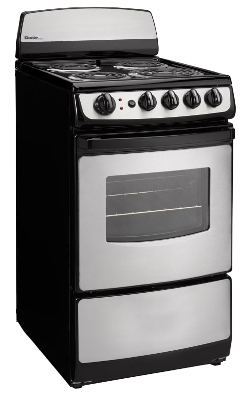 Danby DER201 20 Inch Wide 2.4 Cu. Ft. Capacity Free Standing Electric Range with photo