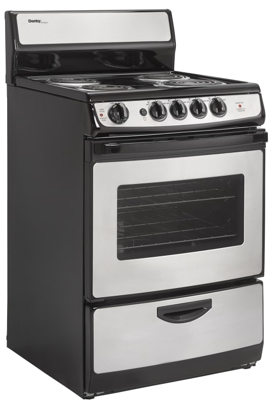 Danby DER242 24 Inch Wide 2.14 Cu. Ft. Capacity Free Standing Electric Range wit photo