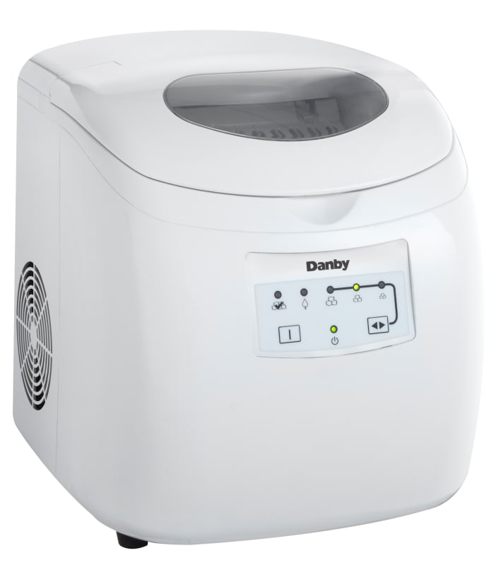 Danby DIM2500 12 Inch Wide 2 Pound Capacity Portable Ice Maker with 25 Lb. Daily photo