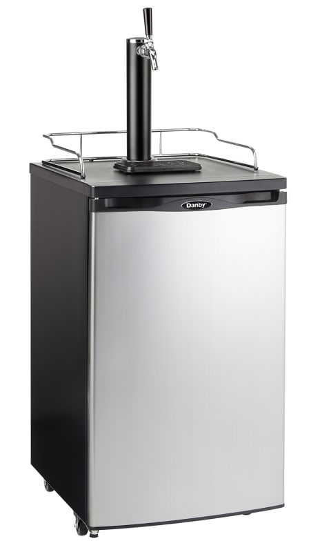 Danby DKC052 20 Inch Wide 5.2 Cu. Ft. Full Size Free Standing Kegerator with Sin photo