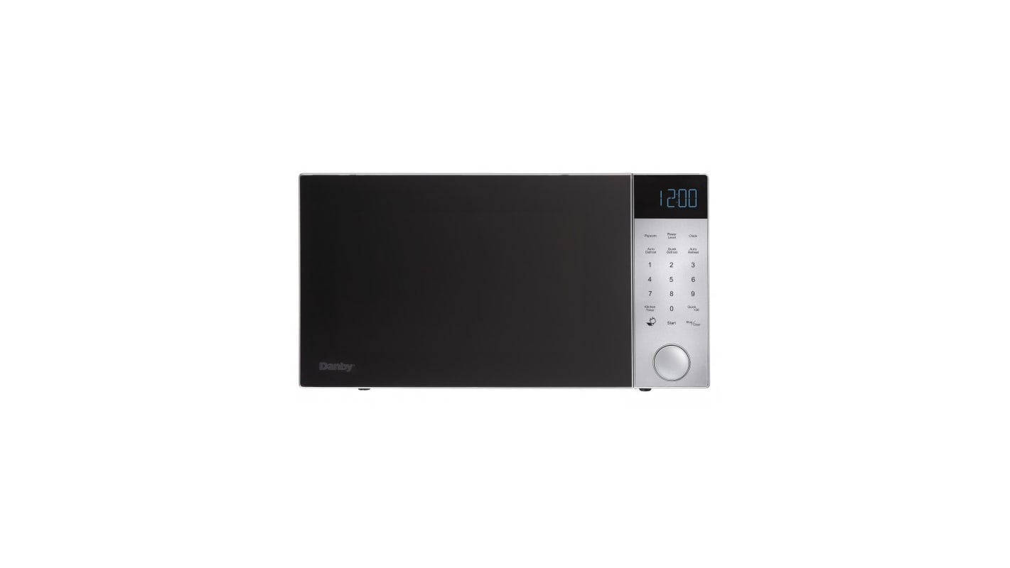 Danby DMW11A4 22 Inch Wide 1.1 Cu. Ft. 1000 Watt Countertop Microwave with Xpres photo