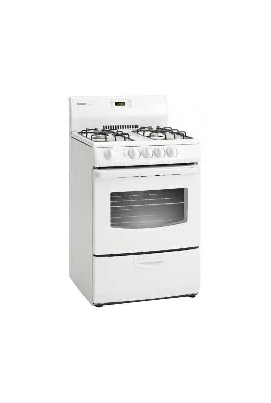 Danby DR241 24 Inch Wide 3 Cu. Ft. Capacity Free Standing Gas Range with Viewing photo