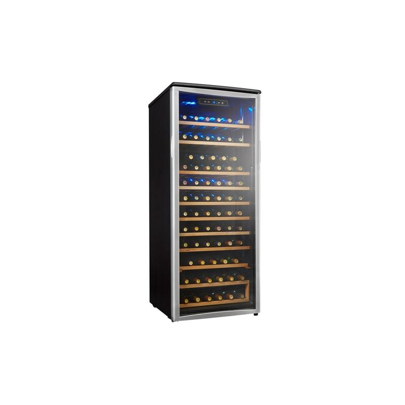 Danby DWC106A1B 74 Bottle Free Standing Single Zone Wine Cooler photo
