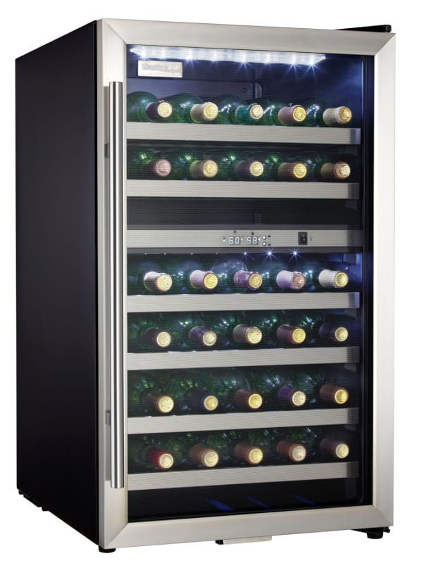 Danby DWC114 20 Inch Wide 38 Bottle Capacity Free Standing Wine Cooler with Dual photo
