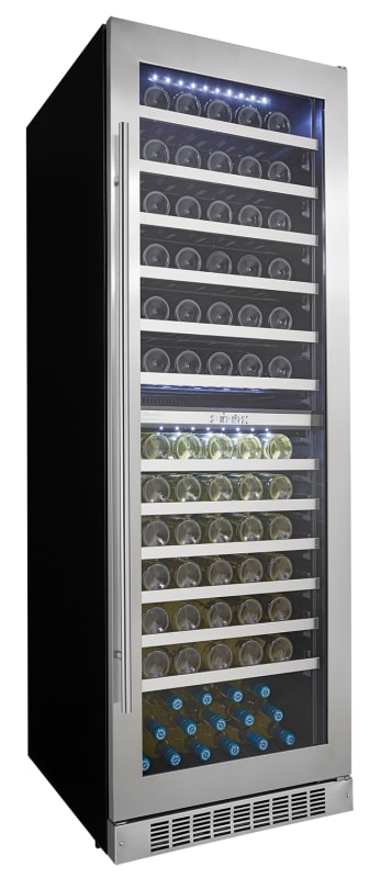 Danby DWC140D1 24 Inch Wide 129 Bottle Capacity Built-In Wine Cooler with Dual T photo