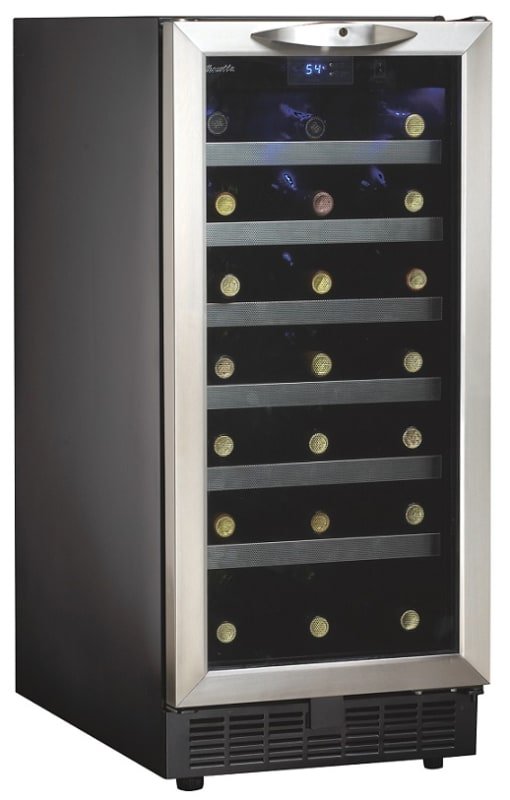 Danby DWC1534 15 Inch Wide 34 Bottle Capacity Built-In Wine Cooler with LED Ligh photo