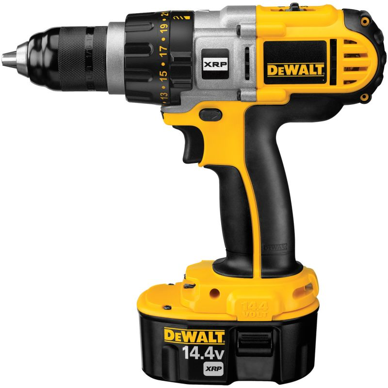 DeWalt DCD920KX 14.4 Volt 1/2 Cordless XRP Drill / Driver Kit with 3 Speed All