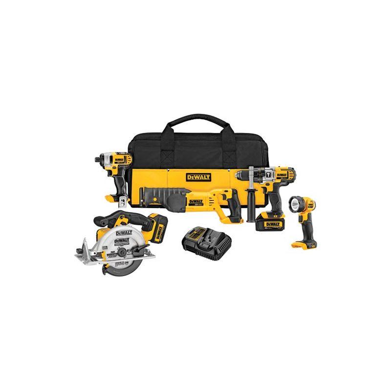 DeWalt DCK592L2 20 Volt MAX Five Tool