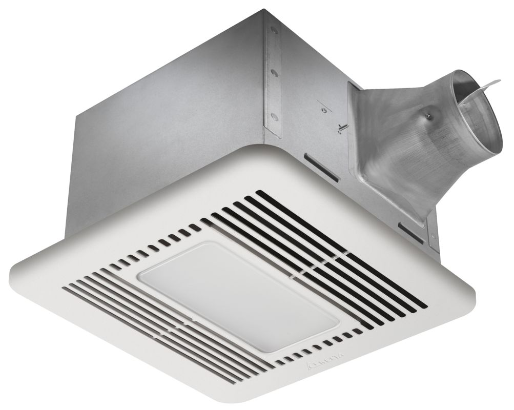 Delta Electronics SIG80MLED 80 CFM 0.3 Sone Ceiling Mounted Fan with LED Night L photo