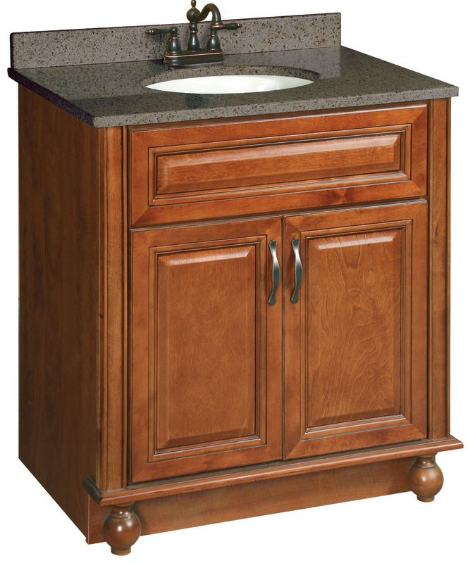 Design house 539635 60 wood vanity cabinet from the for Bathroom cabinets ventura
