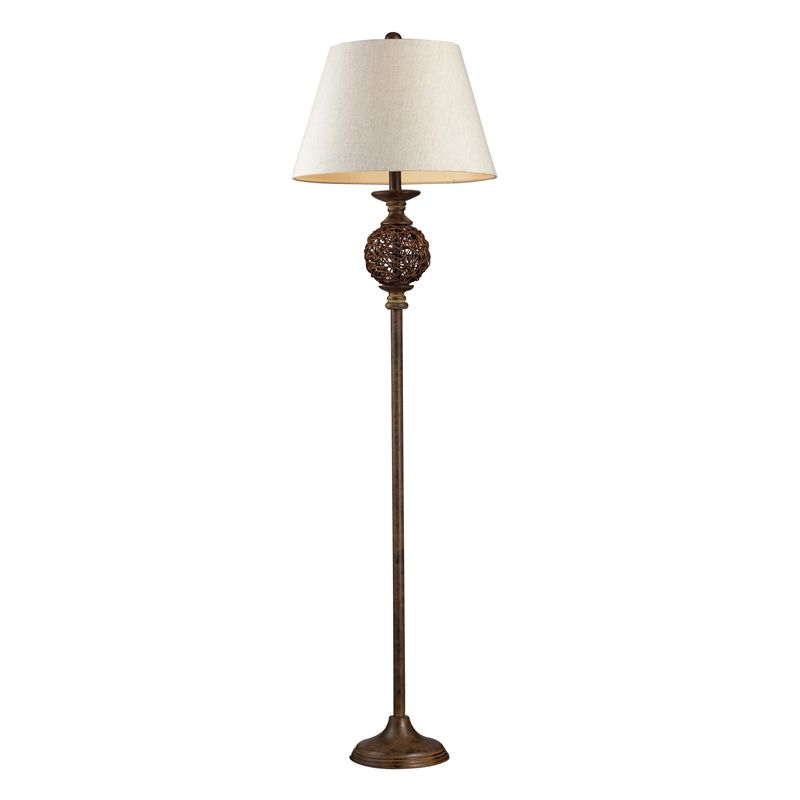 Dimond Lighting 111-1086-LED 1 Light LED Accent Floor Lamp from the Atmore Colle