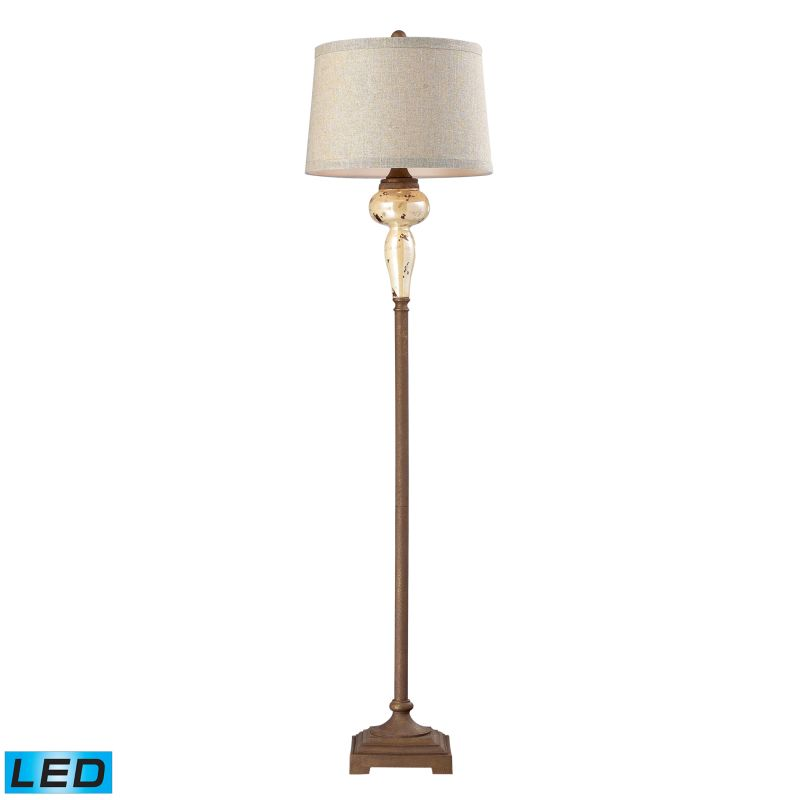 Dimond Lighting 113-1128-LED 1 Light LED Floor Lamp from the Lorraine Collection