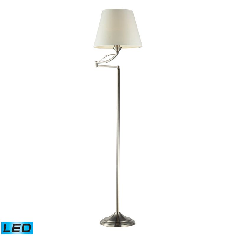 Dimond Lighting 17047/1-LED 1 Light LED Swing Arm Floor Lamp from the Elysburg C