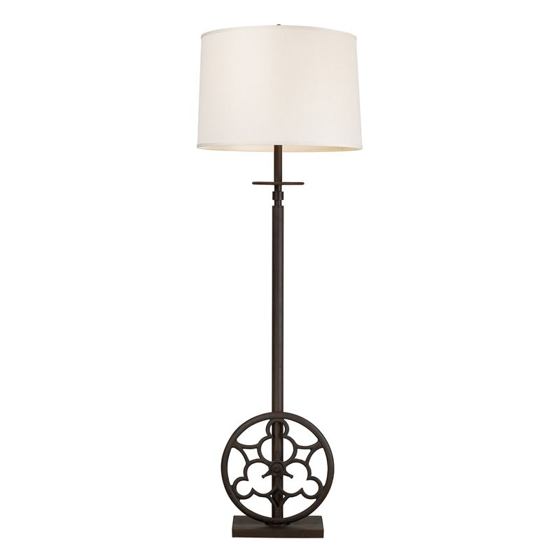 Dimond Lighting 65113-4-LED 4 Light LED Accent Floor Lamp from the Ironton Colle