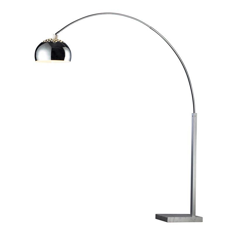 Dimond Lighting D1428-LED 1 Light LED Arc Floor Lamp from the Penbrook Collectio