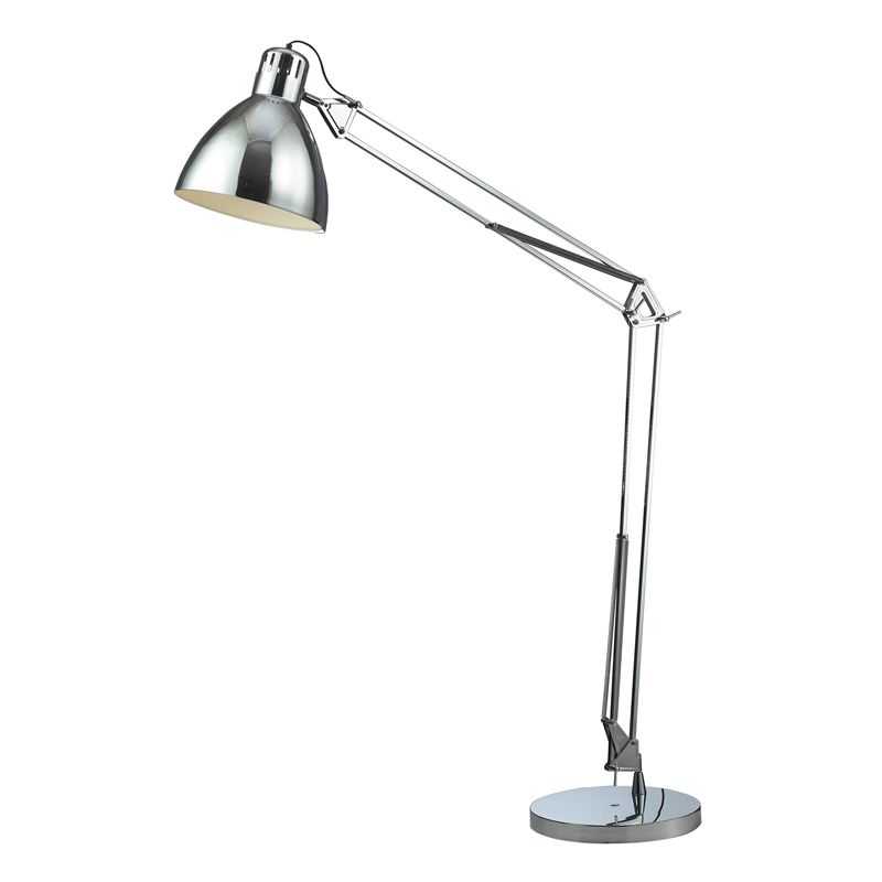 Dimond Lighting D2177-LED 1 Light LED Swing Arm Floor Lamp from the Ingelside Co