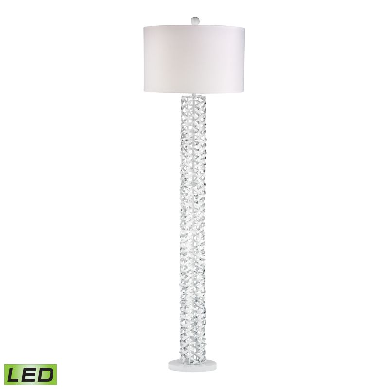 Dimond Lighting D2536-LED 1 Light LED Column Floor Lamp form the Elgin Collectio